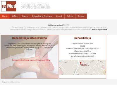 Rehabilitacja ortopedyczna Warszawa