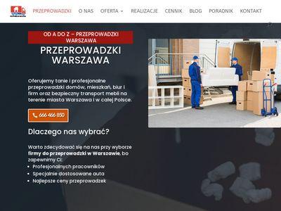 Przeprowadzki Warszawa - DROZDOWICZ