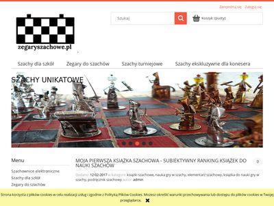 Zegaryszachowe.pl - sklep szachowy zegary, szachy