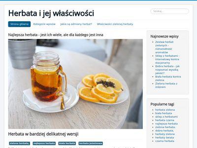 Zielona herbata sklep - blog