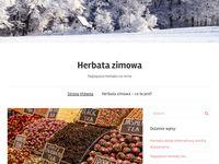 Najlepsza herbata zimowa - blog