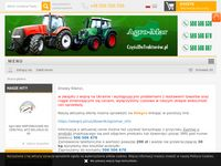 Części zamienne do maszyn rolniczych znanych marek