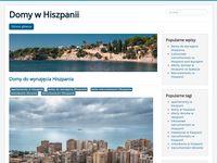 Domy do wynajęcia Hiszpania - blog