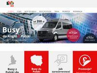 Busy do Anglii i Polski bezpieczeństwo w podróży z Evobusem
