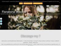 Floratoria-dekoracje ślubne warszawa