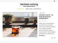 Herbata oolong - blog