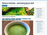 Zielona herbata - blog