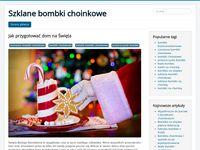 Bombki szklane - blog