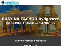 Busy do Niemiec z Bydgoszczy