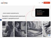 Colltra.pl - biuro tłumaczeń