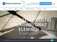 Mycie i czyszczenie kostki brukowej Warszawa