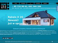 Dominanta projekty domów