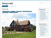 Drewniane domy z bali - blog