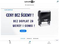 Pieczątki firmowe online na e-pieczatki24.pl