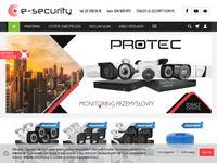 E-security - systemy alarmowe, zestawy do monitoringu, zabezpieczenia