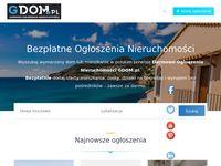 Gdom.pl - ogłoszenia nieruchomości - dedykowana platforma