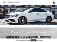 Podróżuj Gwiazdą Do Ślubu - Mercedes CLA