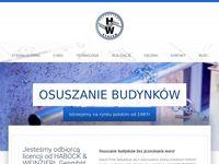 HW Izolan - usługi osuszania budynków