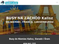 Busy do Niemiec z Kalisza