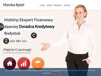 Monika Rytel Doradca Finansowy - Kredyty w Białymstoku