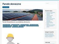 Panel słoneczny - blog