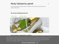 Perły - blog na temat biżuterii