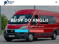 Busy do Anglii - przewóz osób Polska Anglia