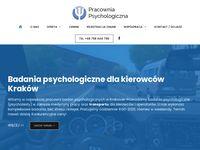 Psychotesty Kraków, Pracownia Psychologiczna, psychotechnika