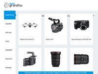 Wypożyczalnia kamer RentGrandfox Kraków - Wynajem sprzętu filmowego