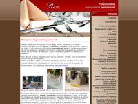 Wyposażenie gastronomii-separatory i zastawa stołowa
