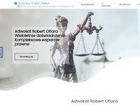 Adwokat rozwód - Robert Ofiara Kancelaria Adwokacka Warszawa