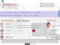 Gabinety dentystyczne Rodentica Bielsko-Biała