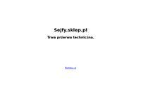 Sklep internetowy - sejfy, drzwi antywłamaniowe