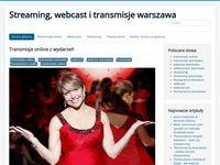 Transmisje Warszawa - blog