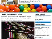 Kafelkowe strony internetowe