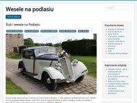 Ślub w plenerze - blog