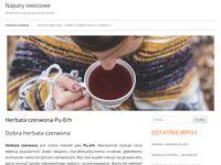 Napary owocowe blog tematyczny