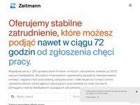 Agencja pracy za granicą - Zeitmann