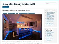 Cichy blender - blog o tematyce AGD