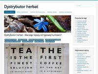 Dystrybutor herbat z najlepszymi herbatami świata - blog internetowy