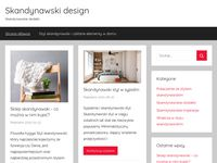 Styl skandynawski - blog