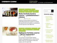 Herbata czarna earl grey - blog