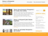 Domy na sprzedaż w Hiszpanii - blog