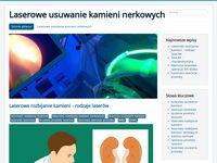 Laserowe rozbijanie kamieni nerkowych