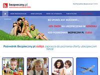 Pośrednik Bezpieczny.pl 01850 - Ubezpieczenia Generali