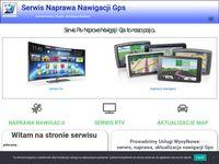 Serwis Rtv - Naprawa Nawigacji GPS