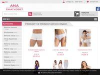 Świat Kobiet Ana sklep z modną i elegancką bielizną