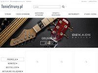Sklep muzyczny dla gitarzysty