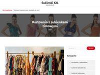 Sukienki xxxl - blog