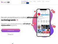 Pozyskaj więcej followersów na Instagramie z aplikacją InstaGo!